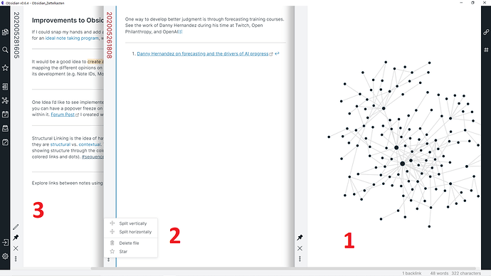 Network Graph Sequencer