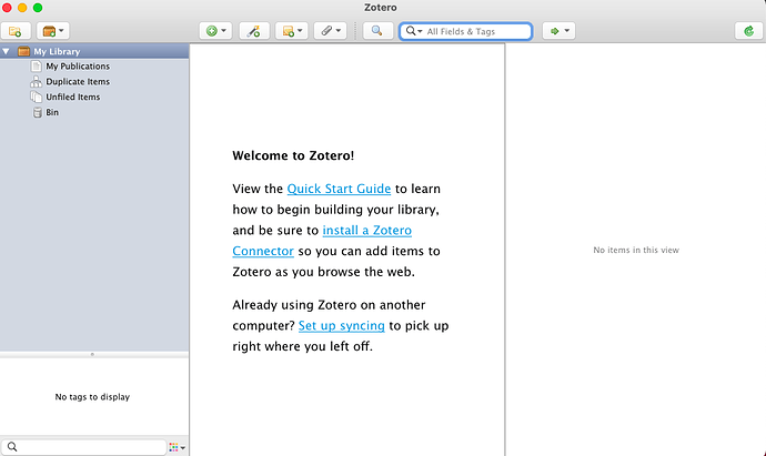 01 new zotero window