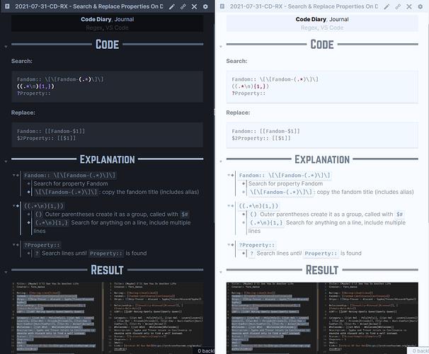 Setup-Journal - Code Diary Page