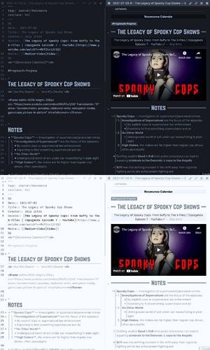 Setup-Journal - Resonance Calendar Page